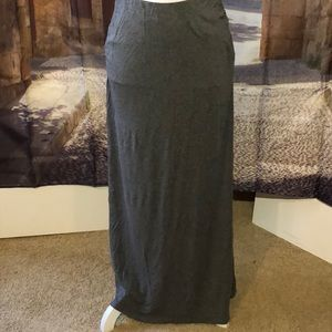 Caslon maxi skirt with ruched sides
